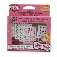 Little Fing'rs Girlie Nails Fing'r Doodles Set, 1 kit