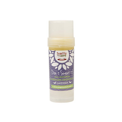 SoapMe with Nature Don't Sweat It! All-Natural Deodorant, Lavender, 3.2 oz