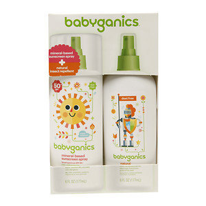BabyGanics Sunscreen/Bug Spray Combo Pack