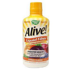 Nature's Way Alive! Liquid Fiber with Prebiotics Citrus