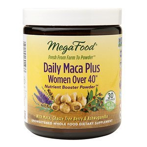 MegaFood Daily MACA Plus Women Over 40 Nutrient Boost Powder, 1.6 oz