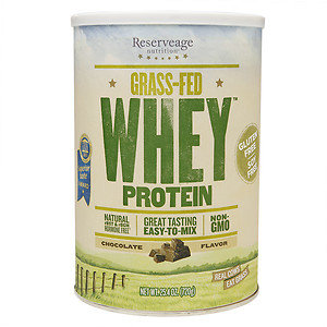 Reserveage Organics Grass-Fed Whey Protein Chocolate 25.4 oz