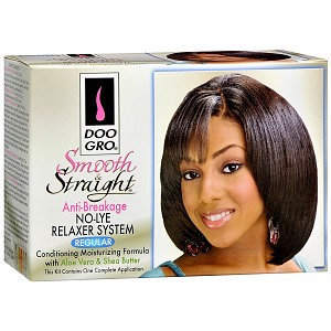 Doo Gro Smooth & Straight Anti-Breakage No-Lye Relaxer System, Regular, 1 Application