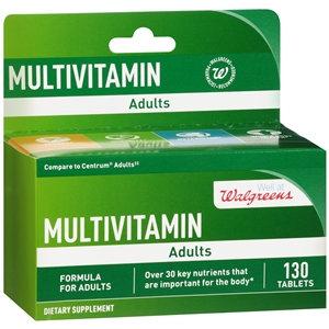 Walgreens Multivitamin Adults, Tablets