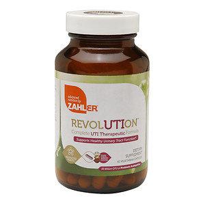 Zahler - UTI Revolution - 60 Vegetarian Capsules