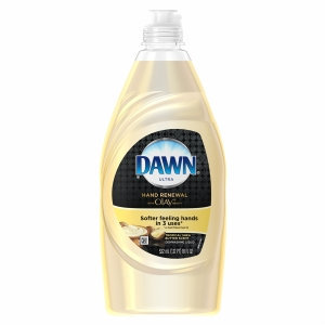 Dawn Hand Renewal with Olay Dishwashing Liquid Tropical Shea Butter