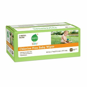 Seventh Generation Soft & Gentle Baby Wipes - Unscented - 350 ct.