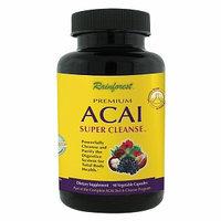 Rainforest - Premium Acai Super Cleanse - 90 Vegetarian Capsules