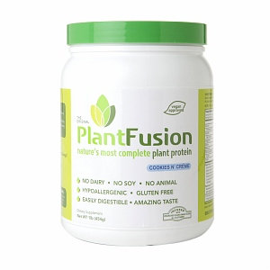 PlantFusion Plant Protein Cookies N' Creme - 1 lb - Vegan