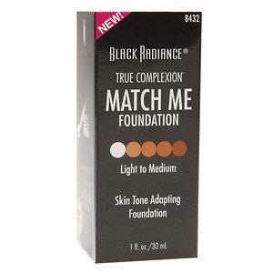 Black Radiance True Complexion Match Me Foundation