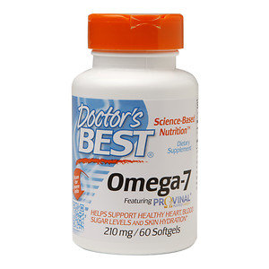 Doctor's Best Omega-7 Featuring Provinal 210mg