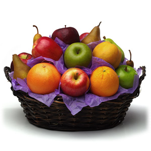 Bouquet of Fruits Medium Assorted Seasonal Fruit Basket, 1 ea