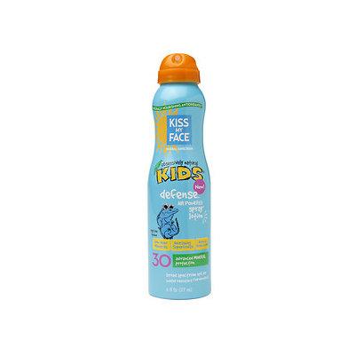 Kiss My Face Kids Defense Mineral Air Powered Spray Lotion SPF 30, 6 fl oz