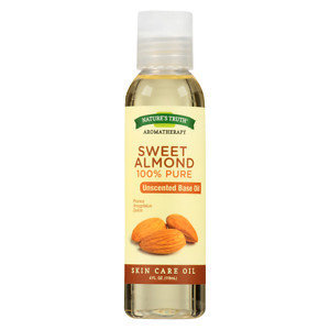 Nature's Truth Aromatherapy Sweet Almond Skin Care Essential Oil - 4 fl oz, Medium Clear