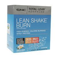 GNC Total Lean Advanced Lean Shake Burn Packets, Vanilla Creme, 6 ea