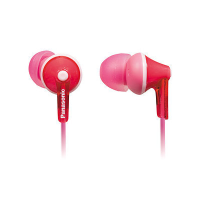 Panasonic Earbud Headphones - Stereo - Pink - Mini-phone - Wired