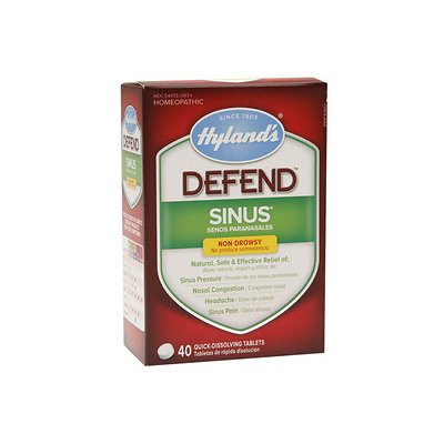 Hylands DEFEND SINUS TABS