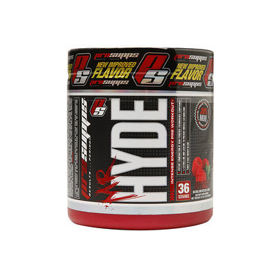 Pro Supps - Mr. Hyde Intense Energy Pre Workout Red Razz - 36 Servings - 8.88 oz.