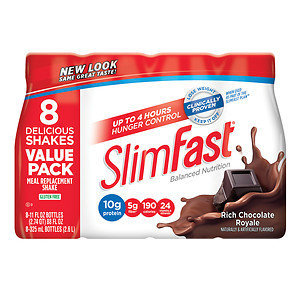 Slim-Fast Ready to Drink, 8 pk, Rich Chocolate Royale, 11 oz