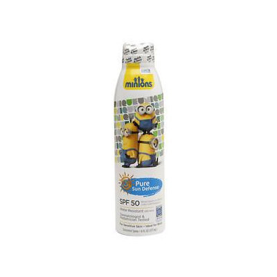 Pure Sun Defense Sunscreen Spray, Despicable Me