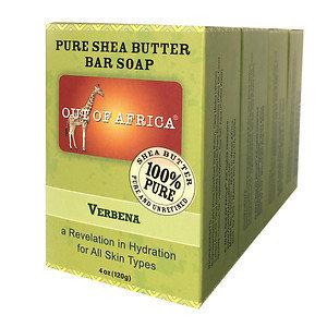 Out Of Africa Bar Soap, Verbena, 4 pk, 4 oz