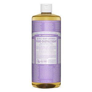 Dr. Bronner's 18-in-1 Hemp Lavender Pure - Castile Soap