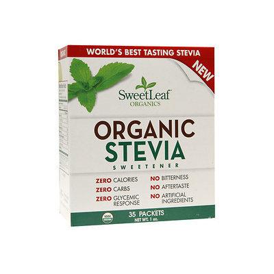 SweetLeaf Organic Stevia Sweetener Packets, 35 ea