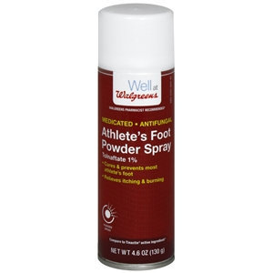 Walgreens Tolnaftate 1% Athlete's Foot Powder Spray, 4.6 oz
