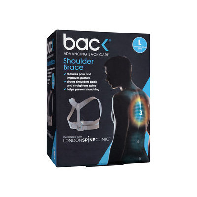 Bac Shoulder Brace, L, 1 ea