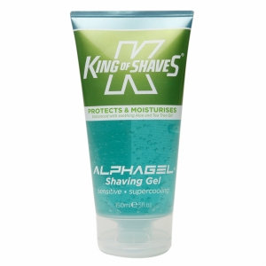 King of Shaves For Men AlphaGel Shave Gel, Cooling Menthol