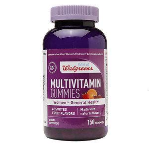 Walgreens Women's Multivitamin Gummies, Fruit, 150 ea