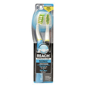 Reach Complete Care Sonic Curve Whitening Toothbrush, Soft, 1 ea
