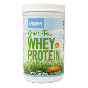 Jarrow Formulas Grass Fed Whey Protein Unflavored 15 Servings