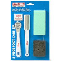 Titania Foot Care Set, 5-Piece, 1 set