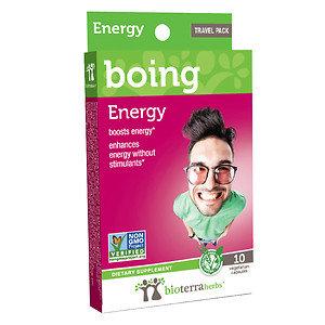 BioTerra Herbs boing Energy, Vegetarian Capsules, 10 ea