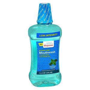 Walgreens Ultra Care Alcohol-Free Mouthwash, Mint, 33.8 oz