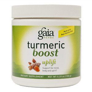 Gaia Herbs Turmeric Boost Uplift Powder, 5.29 oz