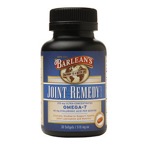 Barleans Barlean's Organic Oils Joint Remedy 210mg Ultra-Concentrated Omega-7, Softgels