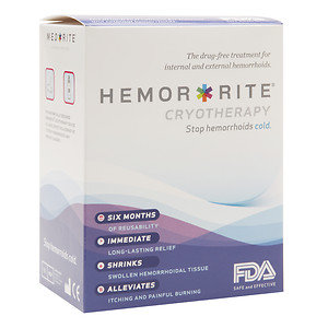 Hemor Rite Hemor-Rite Cryotherapy The Drug-Free Treatment for Internal and External Hemmorhoids, 1 ea