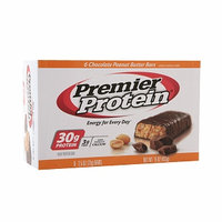 Premier Nutrition Protein Bar Chocolate Peanut Butter 6 Bars