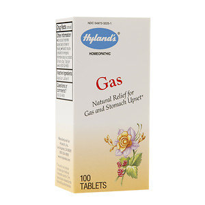 Hylands Hyland's Gas Homeopathic Tablets, 100 ea