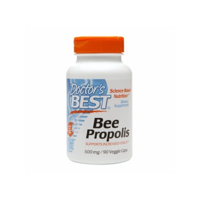 Doctor's Best Bee Propolis 500 mg, Veggie Capsules