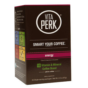 VitaPerk - Vitamin and Mineral Coffee Boost Energy Blend - 30 Packets
