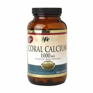 LifeTime Coral Calcium 1000mg, Capsules, 180 ea