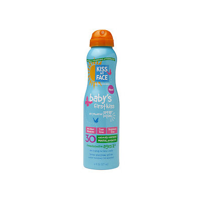 Kiss My Face Baby's Mineral Air Powered Spray Lotion SPF 30, 6 fl oz