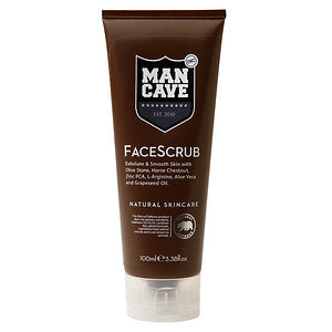 ManCave Face Scrub, 3.38 oz