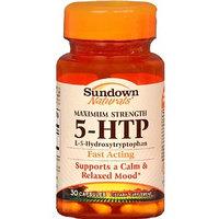 Sundown Naturals 5-HTP Dietary Supplement Capsules