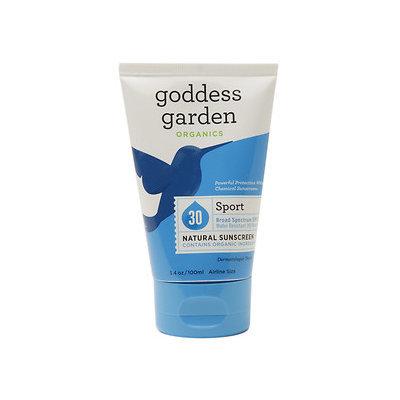 Goddess Garden - Sport Natural Sunscreen 30 SPF - 3.4 oz.