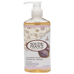 Hand Soap: South Of France 8 oz Hand Wash in Lavender Fields