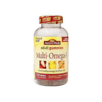 Nature Made Multi + Omega-3 Strawberry Lemon & Orange 150 Gummies